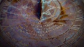 sundial royalty-vrije stock fotografie