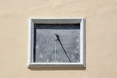 sundial Arkivfoton