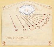 Sundial Immagine Stock
