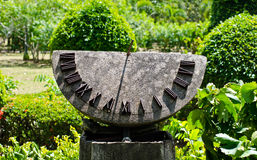 Sundial. Lizenzfreie Stockfotografie