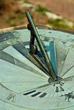 Sundial Gnomon Royalty Free Stock Photography