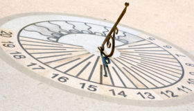 Sundial stock photos