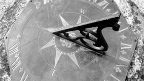 sundial Royalty-vrije Stock Foto
