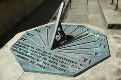 Sundial. Martime sundial on Liverpool's waterfront Royalty Free Stock Photography