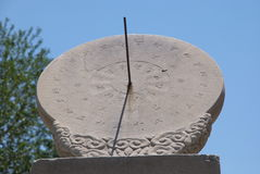Sundial. In Ancient Observatory of Beijing Royalty Free Stock Photos