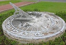 Sundial antigo Imagens de Stock