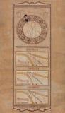 Sundial in Bergamo Royalty Free Stock Photography