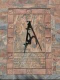 Sundial Boka wierza Zdjęcia Royalty Free
