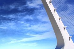 Sundial Bridżowy abstrakt Zdjęcia Royalty Free