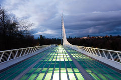 Sundial Bridge Stock Image