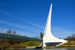 Sundial Bridge California Royalty Free Stock Images