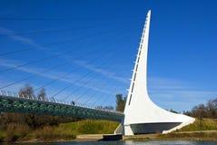 Sundial Bridge California royalty free stock images
