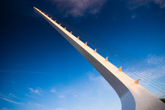 Sundial bridge, Redding, California Royalty Free Stock Photography