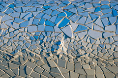Sundial Bridge tiles #1 Royalty Free Stock Photography