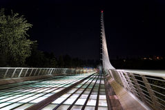 Sundial Bridge in Turtle Bay - Redding California Stock Photography