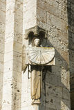 Sundial in the cathedral of Chartres Royalty Free Stock Photos