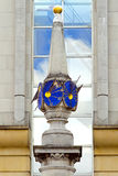 Sundial clock Royalty Free Stock Image