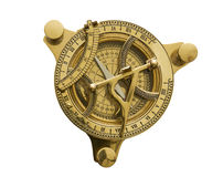 Sundial with compass Royalty Free Stock Photos
