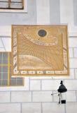 Sundial da parede imagens de stock royalty free