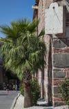Sundial on Dzhumaya Mosque Plovdiv Stock Photography