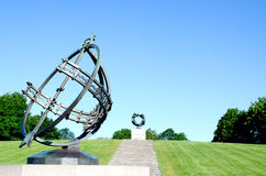 Sundial at Frogner Park Oslo Norway Royalty Free Stock Image