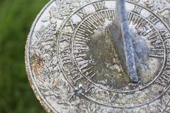 Sundial in Garden Stock Images