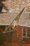Sundial greco immagine stock libera da diritti