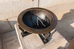 The sundial of Gyeongbokgung Palace Royalty Free Stock Images