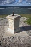 Sundial and horizon Stock Photo