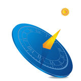 Sundial icon Royalty Free Stock Photo