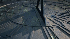 Sundial Lost In Time Royalty Free Stock Photos