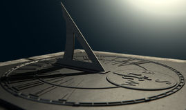 Sundial Lost In Time Stock Image