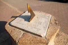 Sundial miasto Taganrog Obrazy Royalty Free