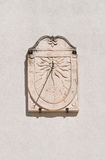 Sundial. Mottola. Puglia. Italy. Royalty Free Stock Images
