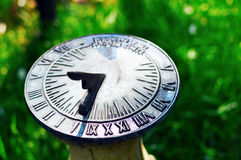 Sundial Before Noon Royalty Free Stock Photos