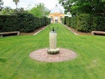 Sundial, Nowy Orlean ogród botaniczny fotografia royalty free