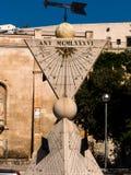 Sundial in palma, mallorca Royalty Free Stock Photography