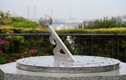 Sundial of the park Royalty Free Stock Images