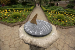Sundial in the Rookery Stock Photography