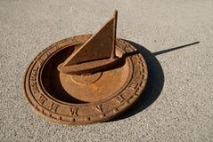 Sundial Sailboat Stock Image
