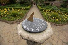 Sundial w Rookery fotografia stock
