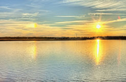 Sundog hdr Royalty Free Stock Images