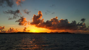 Sundovn w Karaiby Obrazy Stock