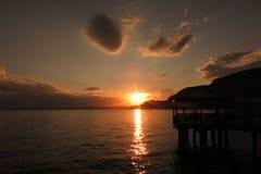 sundown Стоковая Фотография