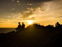 sundown royalty-vrije stock foto's