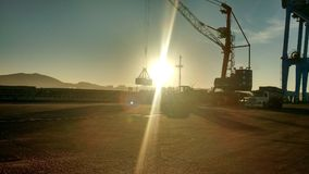 sundown Royalty-vrije Stock Afbeeldingen