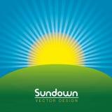 Sundown Royalty Free Stock Images