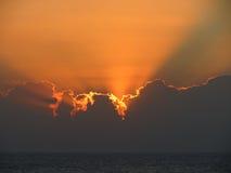 sundown Royalty-vrije Stock Afbeelding