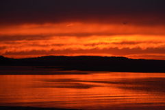 sundown Foto de Stock