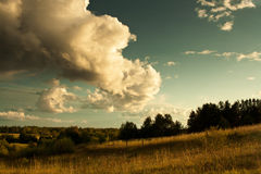 sundown fotografie stock libere da diritti